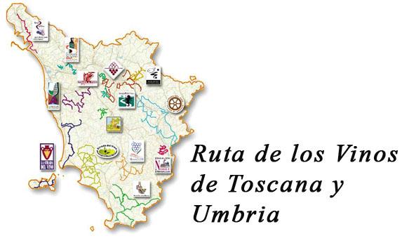 rutas del vino en Toscana y Umbria