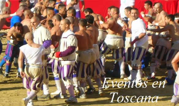 eventos y muestras en Toscana