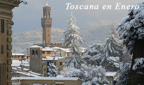 La Toscana en Enero