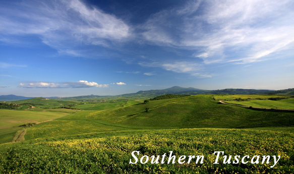 itinerary to Southern Tuscany