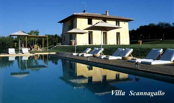 Wonderful Luxury Tuscany Villa Near Cortona